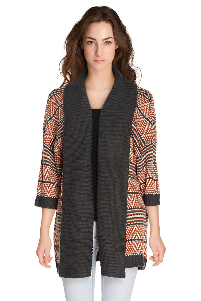 Chaqueta punto tribal para mujer marca Element barata, outlet