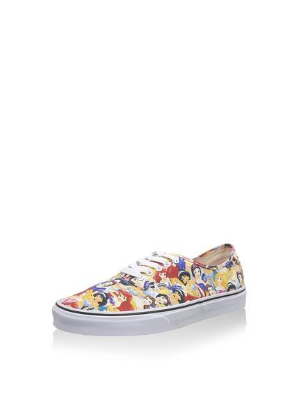 Zapatillas mujer marca Vans estampadas princesas Disney, rebajas