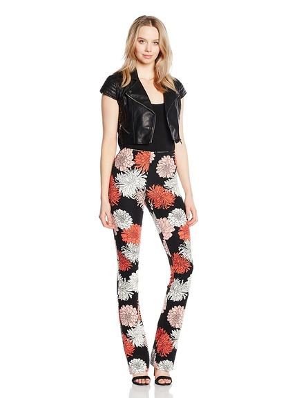 8f1e56e6a547 Pantalones flores marca Guess baratos, outlet