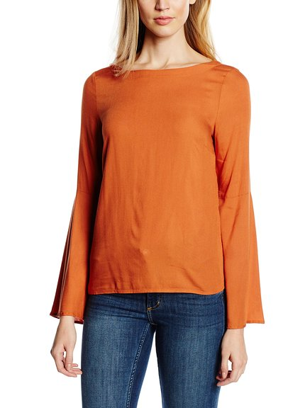 Camiseta manga larga entretiempo mujer marca Vila Clothes barata, outlet