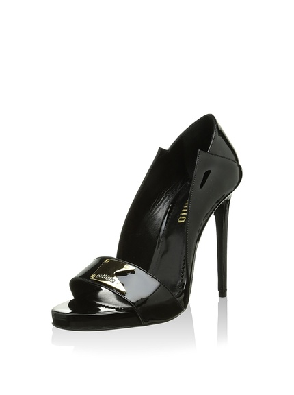 Zapatos peep toe mujer marca Galliano outlet