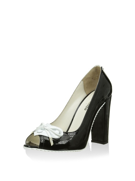 Zapatos peep toe mujer marca Galliano outlet 2