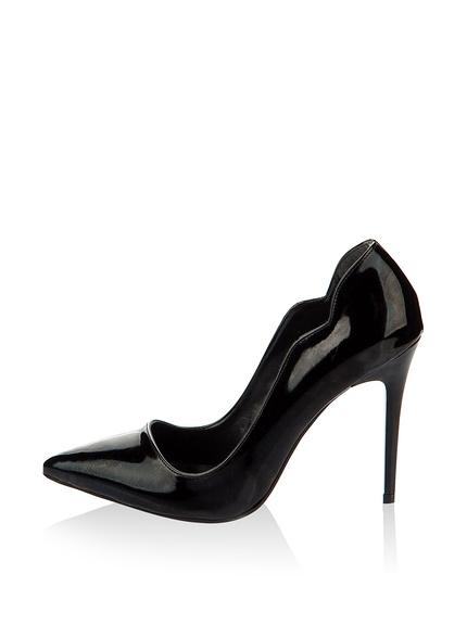 Zapatos salones color negro marca Pembe Potin baratos, outlet 3