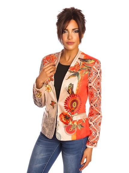 Chaquetas americanas mujer marca Spring Style barata, outlet 2