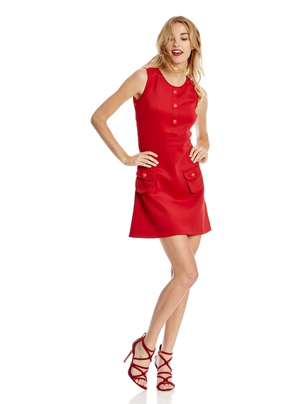 Vestido rojo marca Trakabarraka baratos, outlet