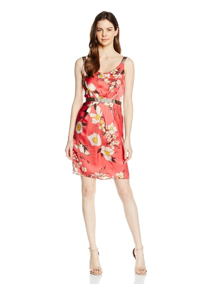 Vestidos primavera estampados y colores marca Oltre baratos, outlet 3