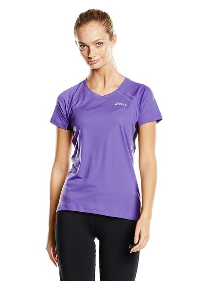 Camiseta running mujer marca Asics baratas, outlet