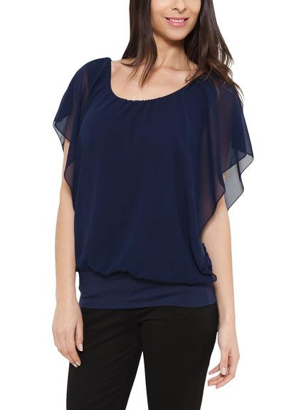 Blusa color azul marino marca Eyedoll barata, outlet