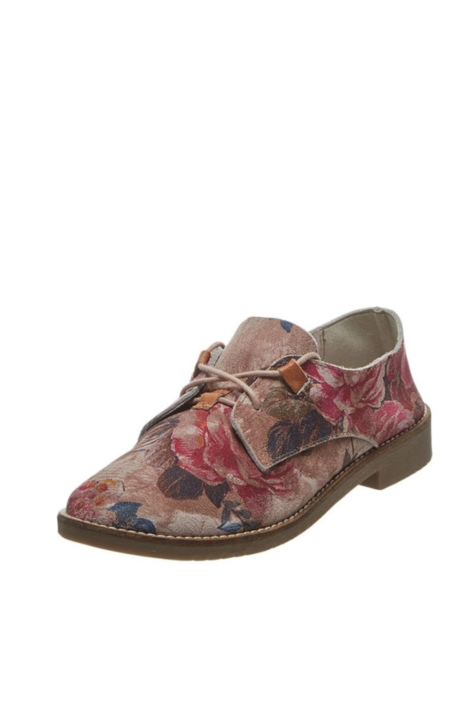 Zapatos derbie rosas marca Bullboxer baratos, outlet