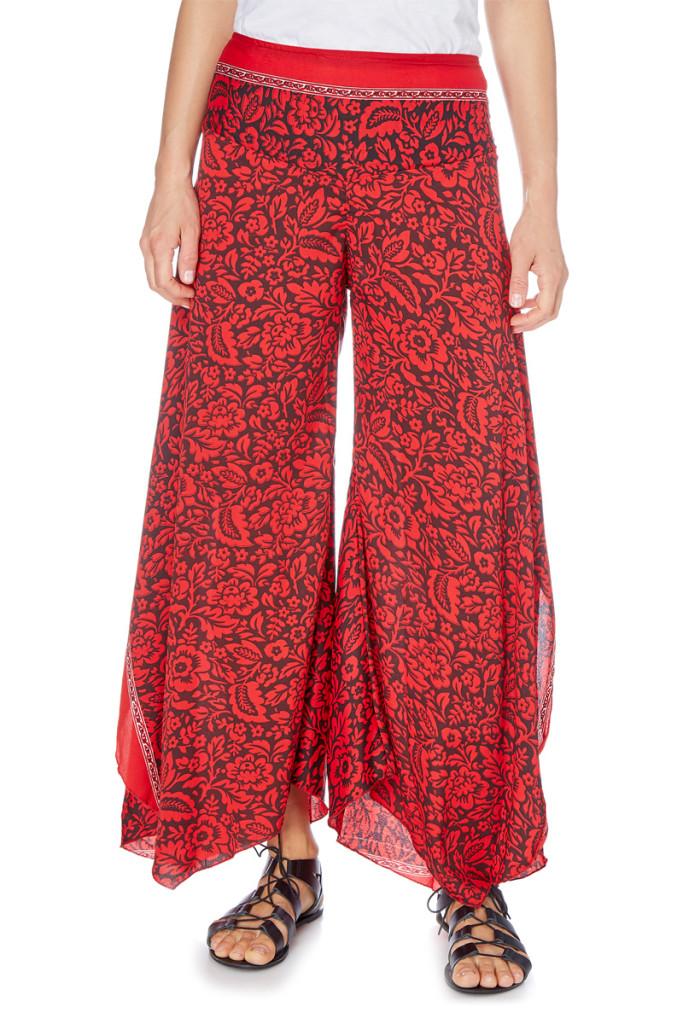 pantalón étnico largo barato, outlet