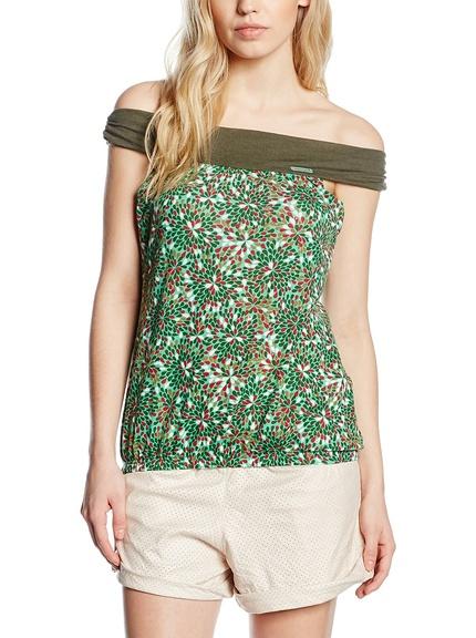Blusas y camisas hombros al aire distintas marcas baratas, outlet