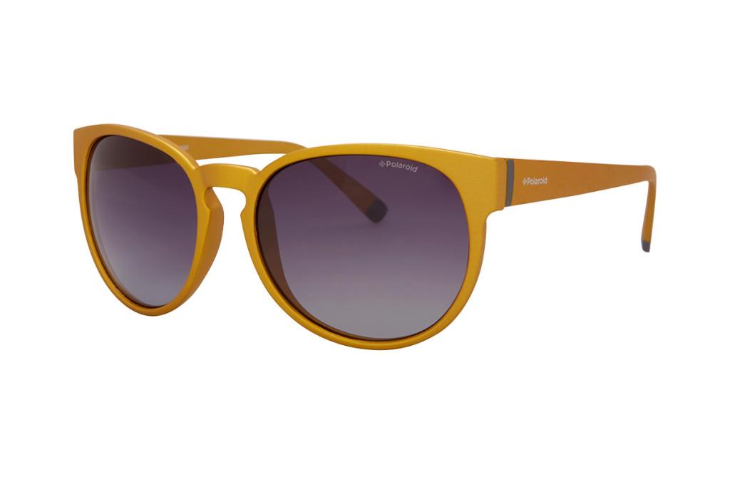 Gafas sol mujer color mostaza marca Polaroid baratas, outlet