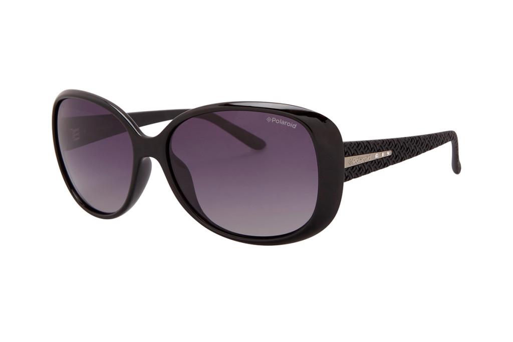 Gafas sol mujer color negro marca Polaroid baratas, outlet