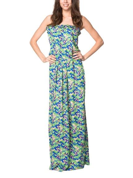 Vestido largo flores marca Peperuna barato, outlet