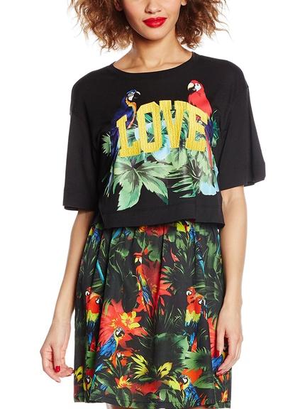Camisetas y faldas estampado verano marca Love Moschino baratos, outlet