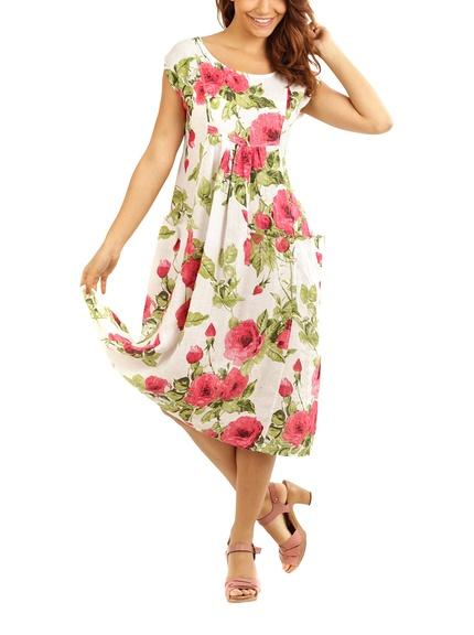 Vestidos lino marca Maison du Lin baratos, outlet 2