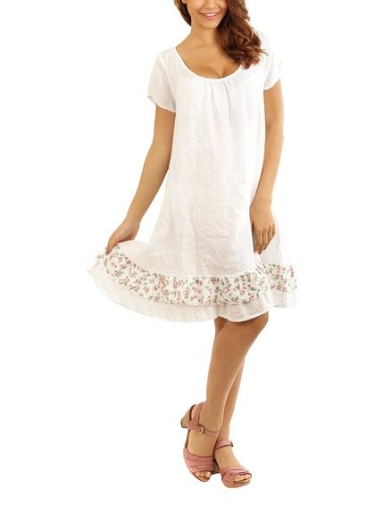 Vestidos lino marca Maison du Lin baratos, outlet 3