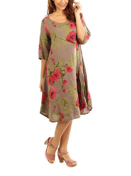 Vestidos lino marca Maison du Lin baratos, outlet