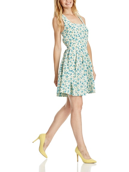 Vestido flores marca Divina Providencia barato, outlet online