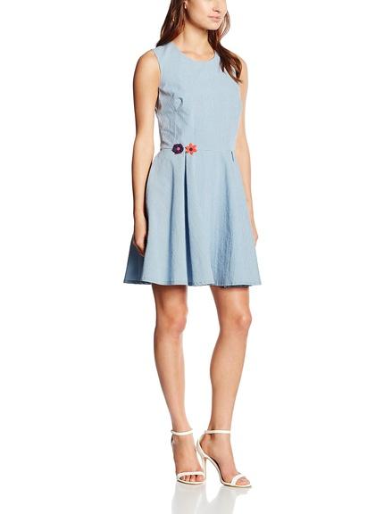 Vestido cuadritos marca Divina Providencia barato, outlet online