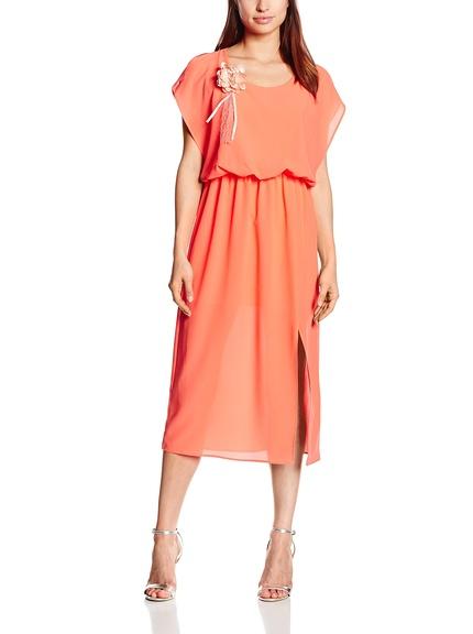 Vestido coral marca Divina Providencia barato, outlet online
