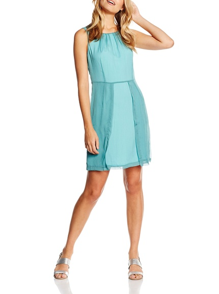 Vestido verde agua verano marca Lavad barato, outlet 3