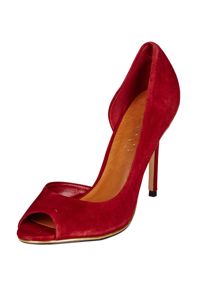 Zapatos pep toe tacón marca Aldo baratos, outlet