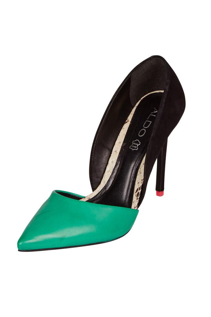 Zapatos tacón marca Aldo baratos, outlet