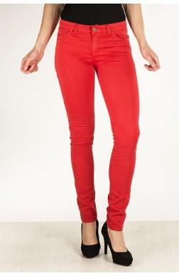 Pantalon pitillo rojo marca Mercajeans rebajas 2