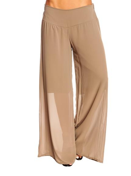 Pantalón fluido mujer marca Just succes baratos, rebajas