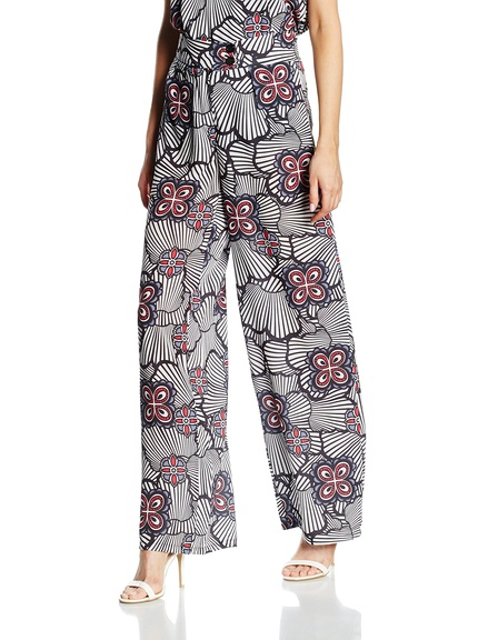 Pantalones estampados marca Keysha baratos, outlet