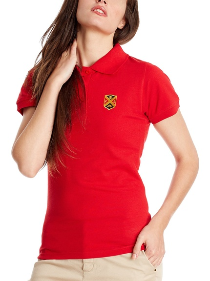 Polo rojo marca Polo Club barato, outlet