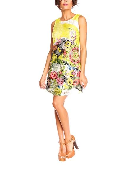 Vestidos marca Bandida estampado flores baratos, outlet 3