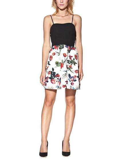 Vestido estampado flores marca Candy baratos, outlet