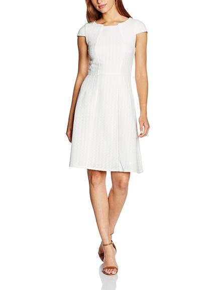 Vestido color marfil marca Yumi barato, outlet