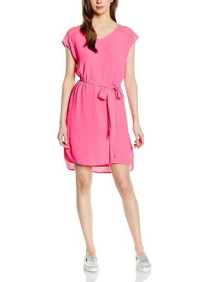 Vestido rosa marca French Connection barato, outlet