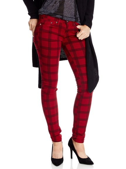 Pantalones cuadros marca Pepe Jeans baratos, outlet online