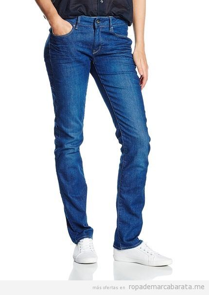 Pantalones mujer marca G-Star baratos, outlet online
