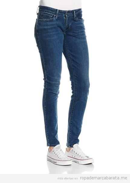 Pantalones mujer marca levi's baratos, outlet online