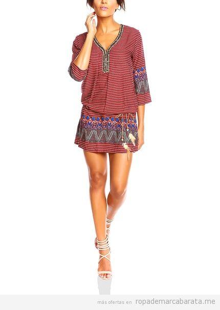 Vestido étnico otoño marca Chic baratos, outlet