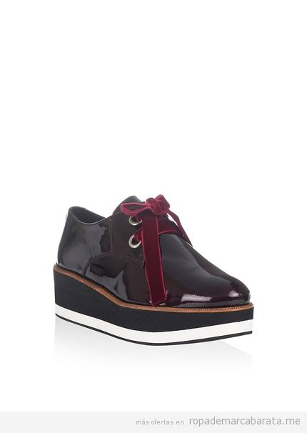 Zapatos Creepers marca Laura Moretti baratos, outlet