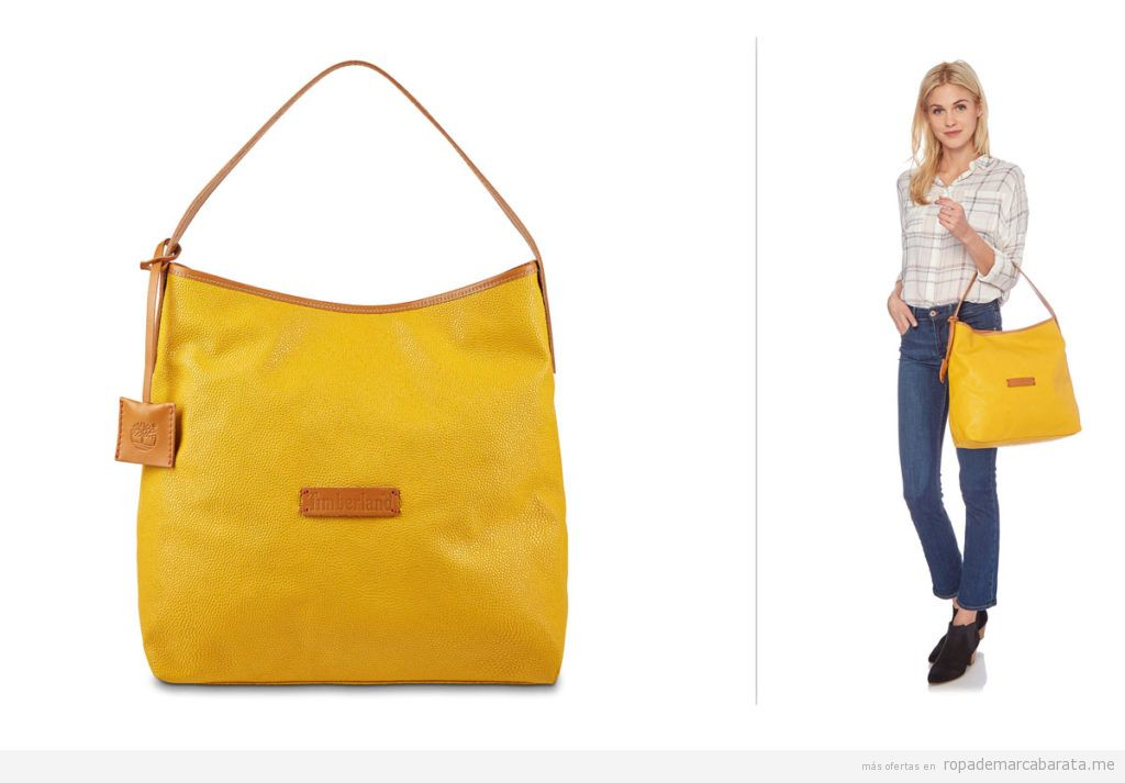 Bolsos piel marca Timberland barato, outlet