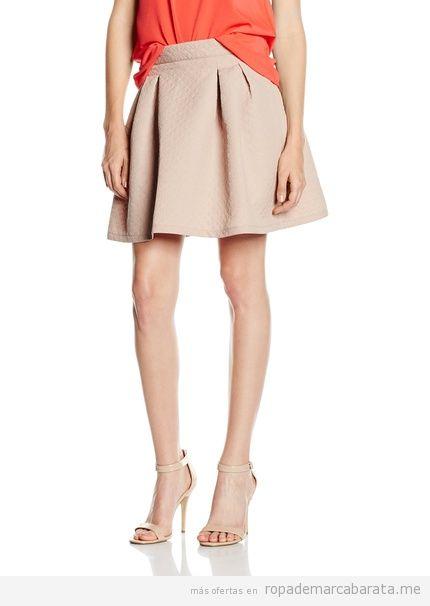Falda rosa marca Mexx barata, outlet