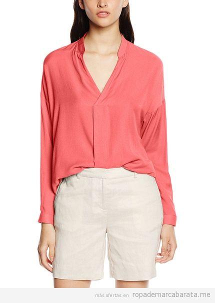 Blusa coral marca Mexx barata, outlet
