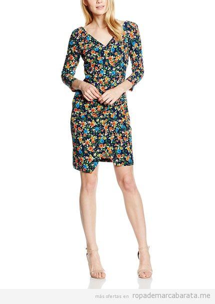 Vestido estampado flores marca Maiocci barato, otulet