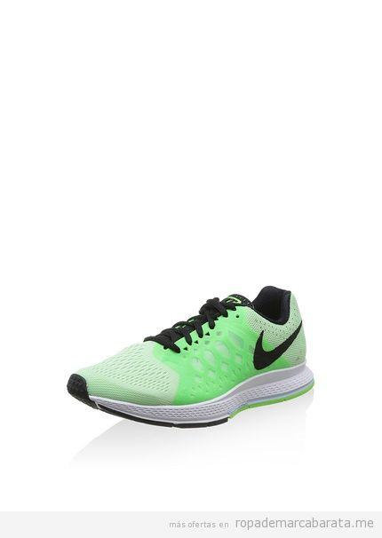 Zapatillas deporte mujer color verde marca Nike rebajas