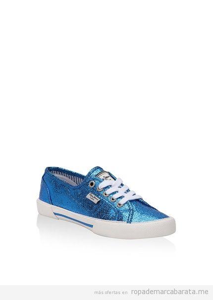 Zapatillas marca Pepe Jeans baratas, outlet