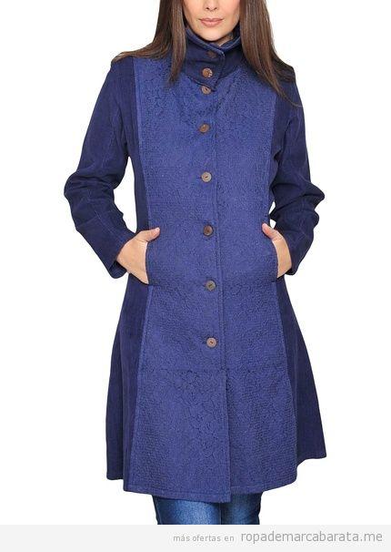 Abrigo de mujer marca HHG invierno barato, outlet