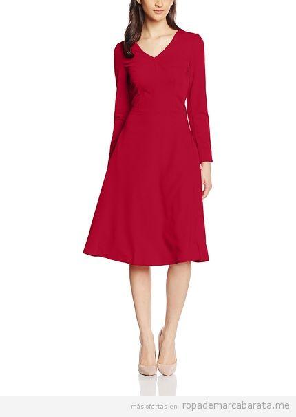 Vestido rojo marca Nife barato, outlet