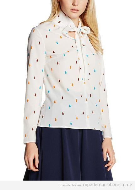 Camisa estampada marca Nife barata, outlet